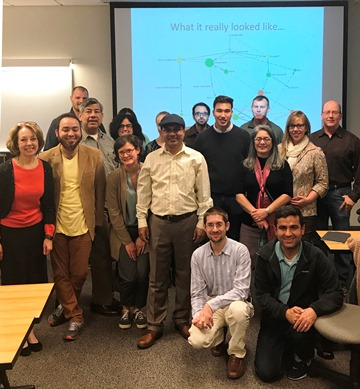 Public Policy Ph.D. Class, Fall 2017, with Guest Speaker Amit Nag